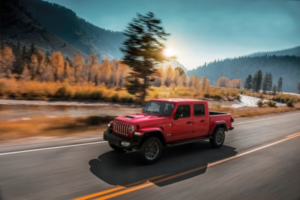 Jeep Gladiator: de pick-upversie van de Wrangler is er