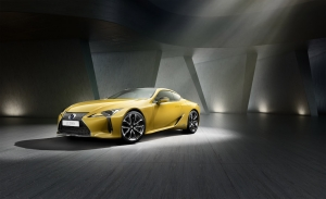 Lexus presenteert LC Flare Yellow Edition