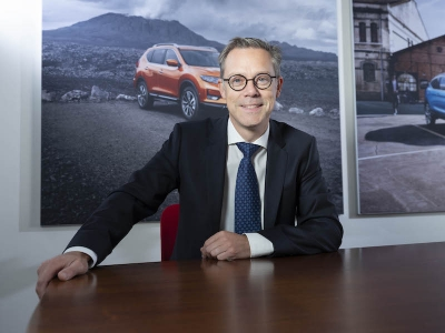 David Herman is de nieuwe Corporate Sales Director van Nissan Belux