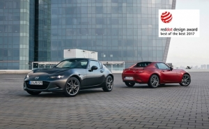 Mazda MX-5 RF wint Red Dot Awards 2017