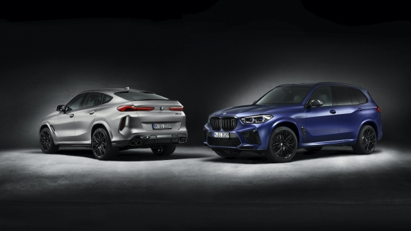 Extra exclusiviteit met First Edition-varianten van BMW X5 en X6 M Competition