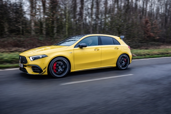 TEST: Mercedes-AMG A 45 S 4MATIC+ 421pk (VIDEO)