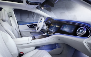 Mercedes EQS wordt hightech-orgie