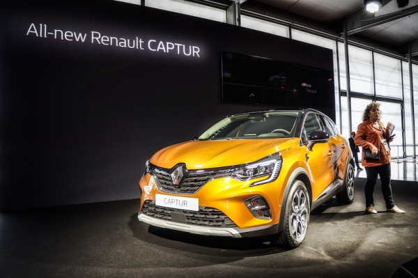 Renault Captur @ IAA Frankfurt 2019 (video)
