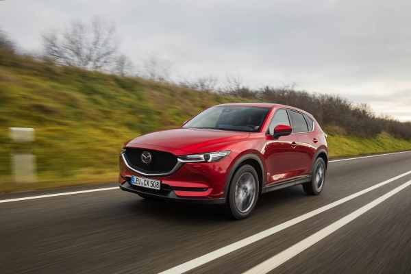 KORT GETEST: Mazda CX-5 SkyActiv-G: Can't touch this