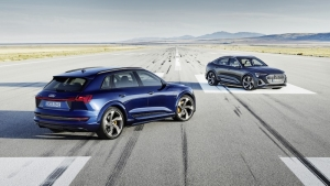 Extra stroomstoot voor Audi e-tron S